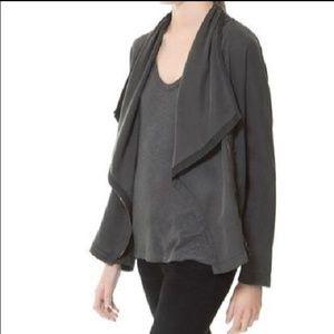 Zara Draped Moto Jacket